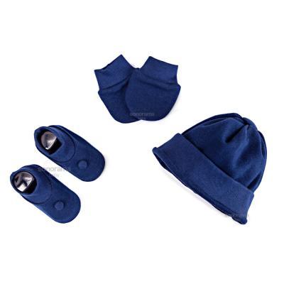 kit-touca-luva-e-sapatinho-de-suedine-para-recem-nascido-azul-marinho