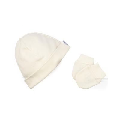 kit-touca-e-luva-fio-egipcio-para-bebe-creme