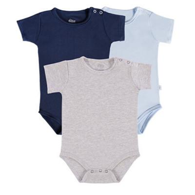 body-basico-manga-curta-kit-3-pecas-cinza-marinho-e-azul-claro