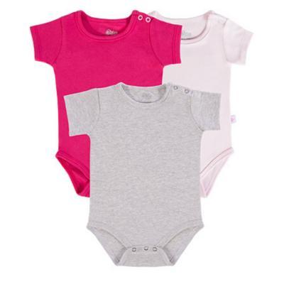 body-basico-manga-curta-kit-3-pecas-cinza-pink-e-rosa-claro