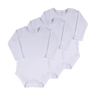 body-basico-manga-longa-kit-3-pecas-branco