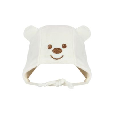 touca-recem-nascido-plush-urso-bege