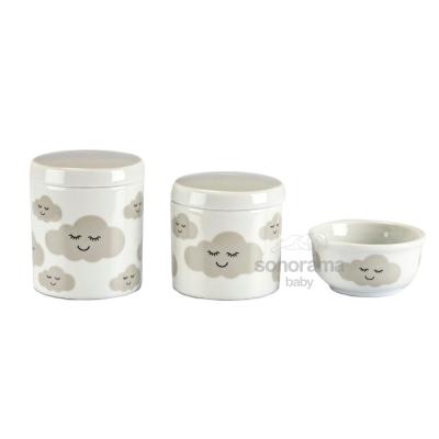 trio-de-potes-porcelana-3-pecas-nuvem-cinza