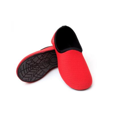 sapato-de-neoprene-ufrog-fit-infantil-vermelho