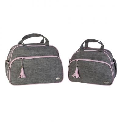 kit-bolsa-e-frasqueira-roma-style-baby-cinza-e-rosa